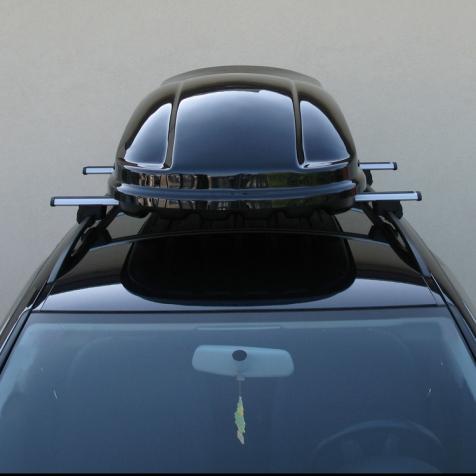 baule portapacchi farad marlin f3 400l nero lucido. Black Bedroom Furniture Sets. Home Design Ideas