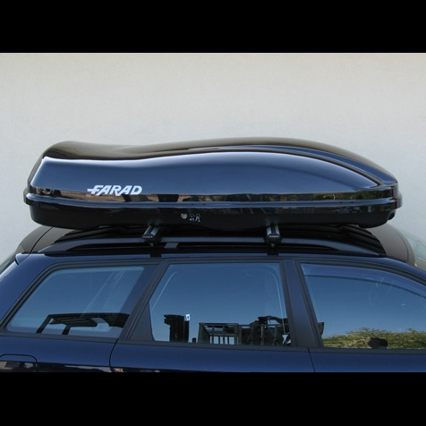Farad Roof Box Marlin F3 680l Black Metallic