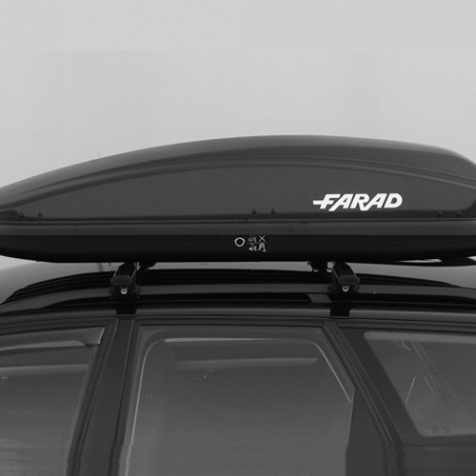 Farad 1-93431 N//18 Coffre de Toit 430 L Noir