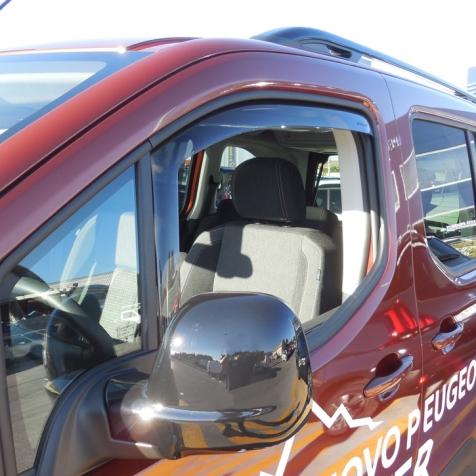 2000-2009 Dunkles Material Vordere Windabweiser 1 Set f/ür die Fahrer und Beifahrerseite-CLS0033122D passend f/ür Volvo S60 TYP R LIM 4-Door